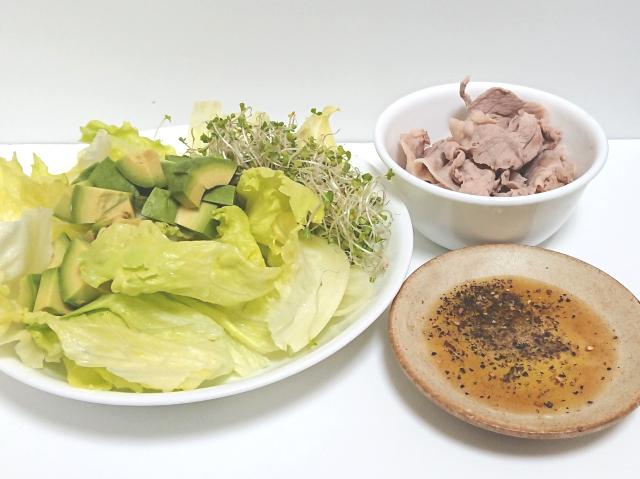 食欲をリセットするサラダ
